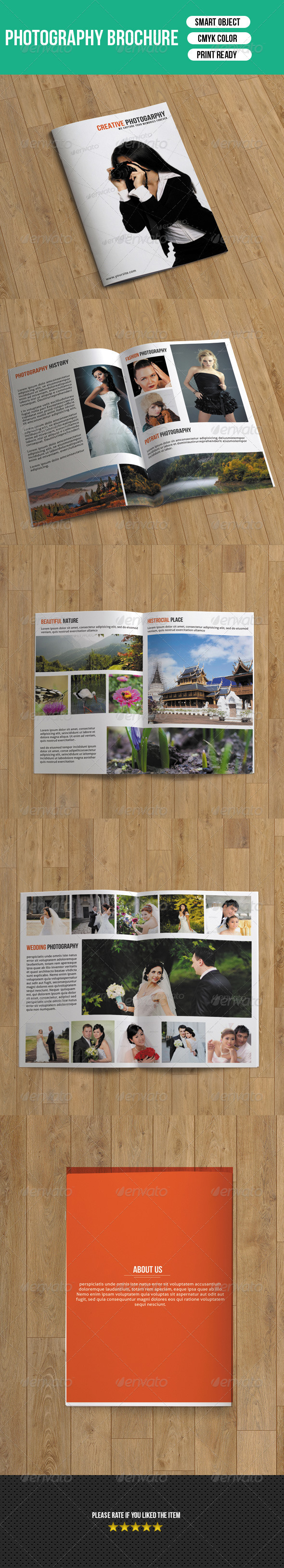 GraphicRiver Photography Brochure-8 Pages 7291275