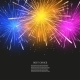 Vector Creative Fireworks Modern Background - GraphicRiver Item for Sale