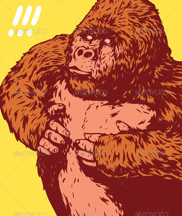 GraphicRiver King Kong Gorilla 7264661