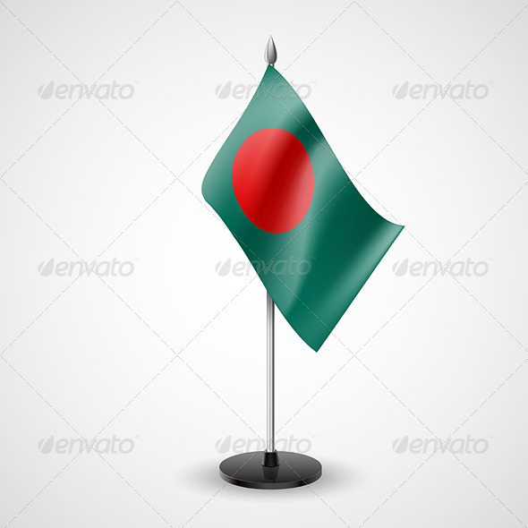 GraphicRiver Table Flag of Bangladesh 7292162