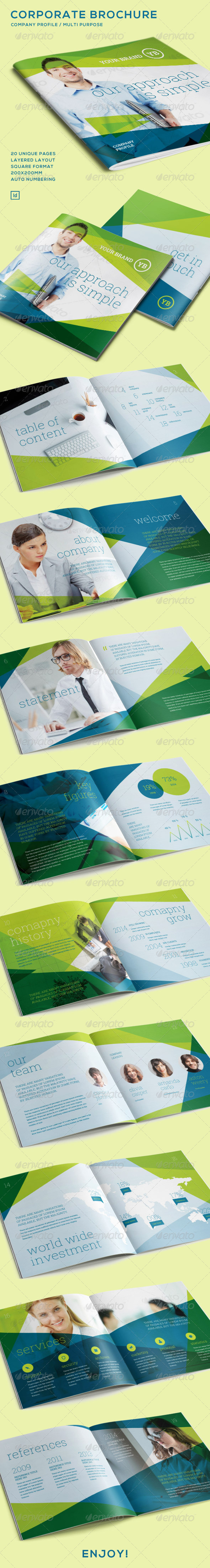 GraphicRiver Corporate Brochure Company Profile 7280341