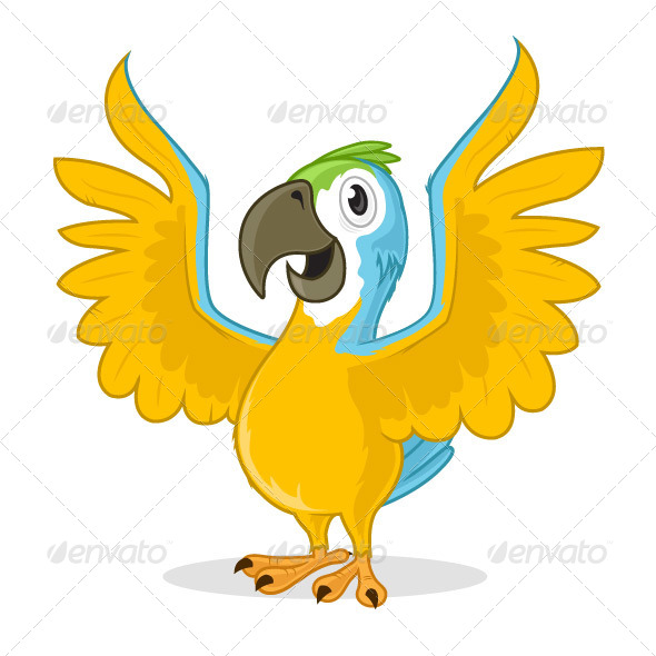 GraphicRiver Parrot 7292405
