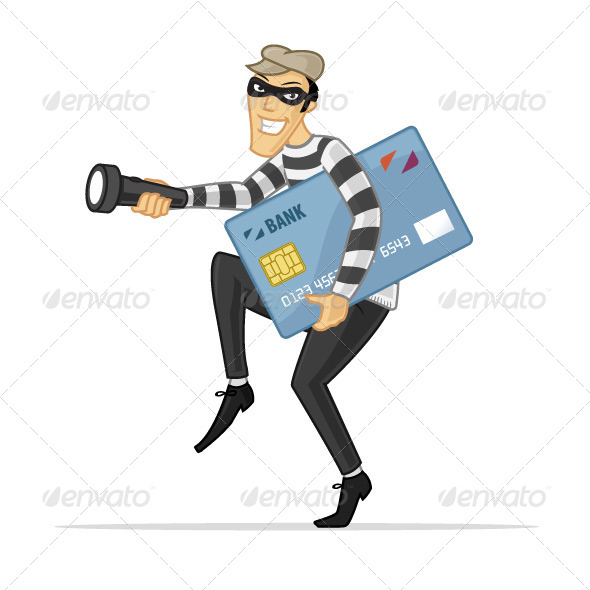 GraphicRiver Credit Card Thief 7292436