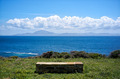 Stone Seat with Views to Africa. Andalusia. Spain - PhotoDune Item for Sale