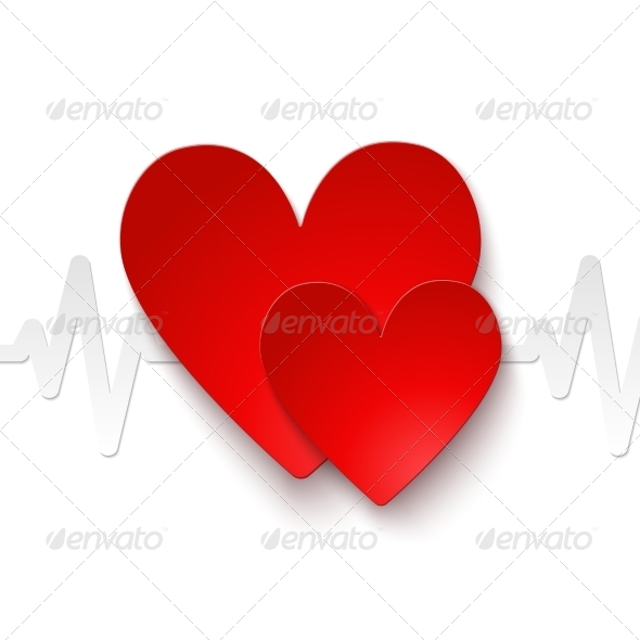 GraphicRiver Heartrate Emblem 7292582