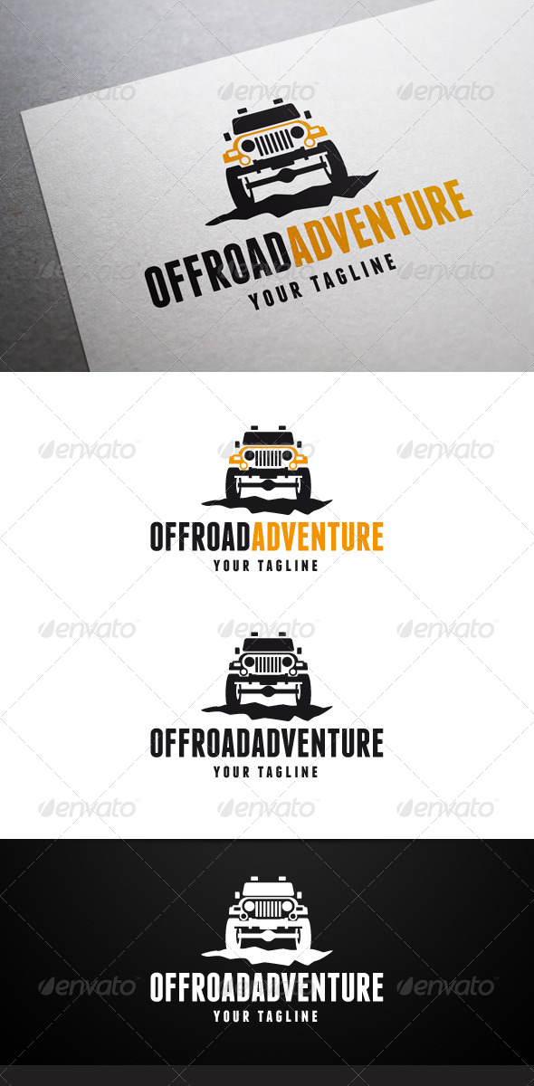 GraphicRiver Offroad Adventure Logo 7292675
