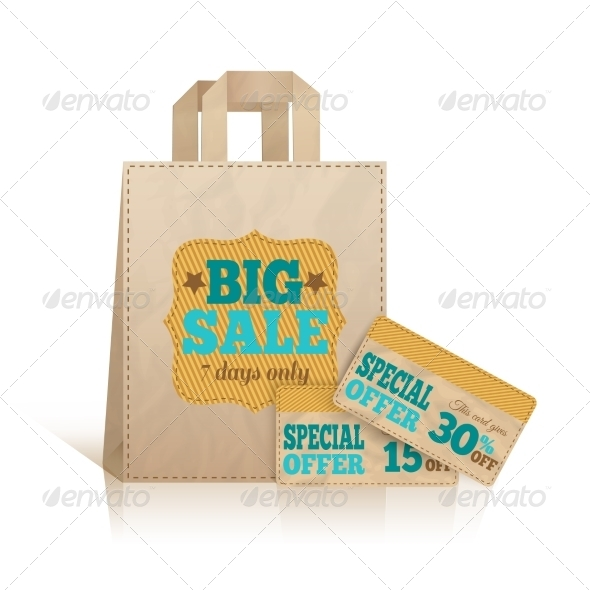 GraphicRiver Big Carry Paper Shopping Bag 7292692