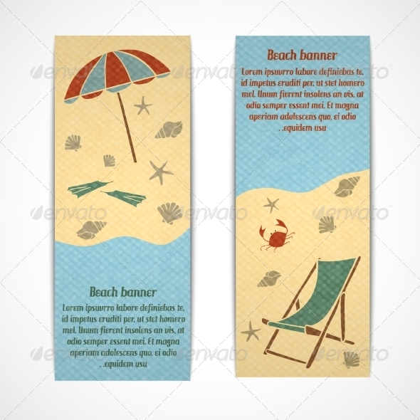 GraphicRiver Summer Vacation Banners Vertical 7292714