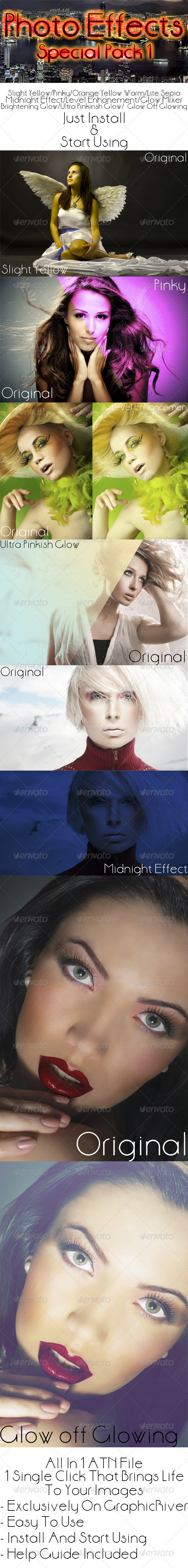 GraphicRiver Photo Effects Special Pack 1 7292740