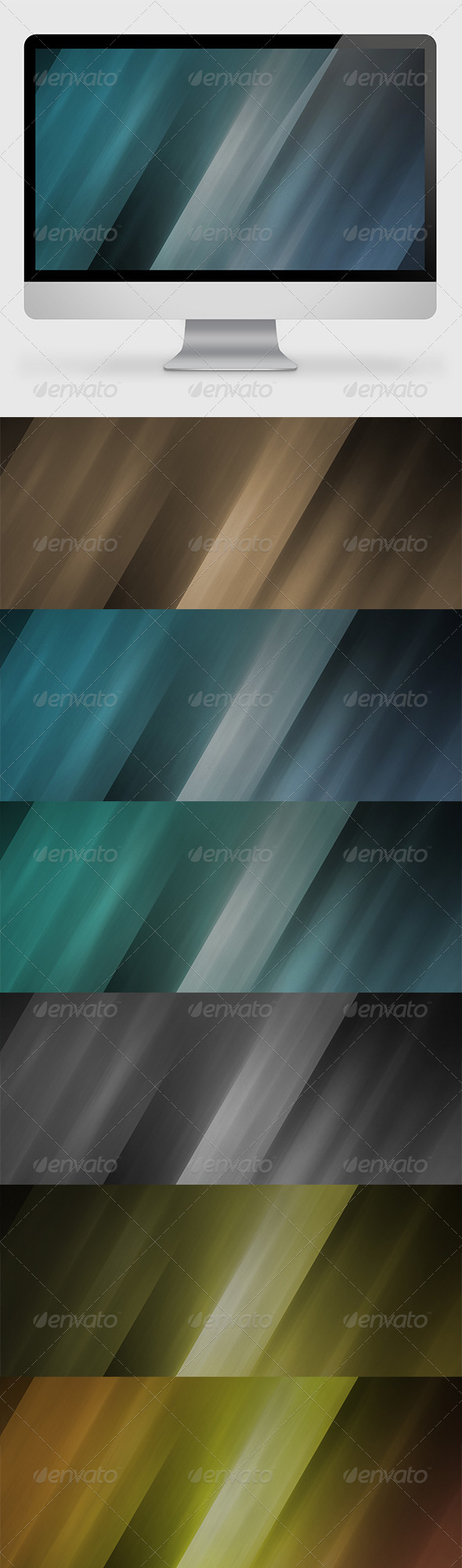 GraphicRiver Abstract Striped Backgrounds 7292937