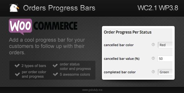 CodeCanyon WooCommerce Orders Progress Bars 7292949