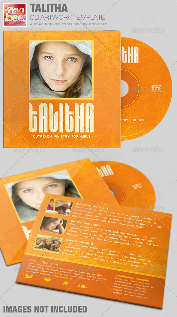 GraphicRiver Talitha Charity CD Artwork Template 7293610