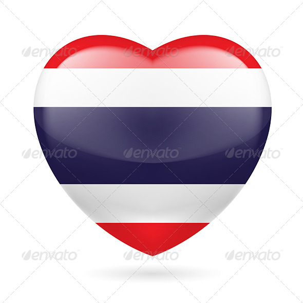 GraphicRiver Heart Icon of Thailand 7293627