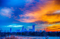 charlotte the queen city skyline at sunrise - PhotoDune Item for Sale