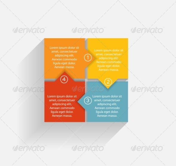 GraphicRiver Infographic Business Template Vector Illustration 7294974