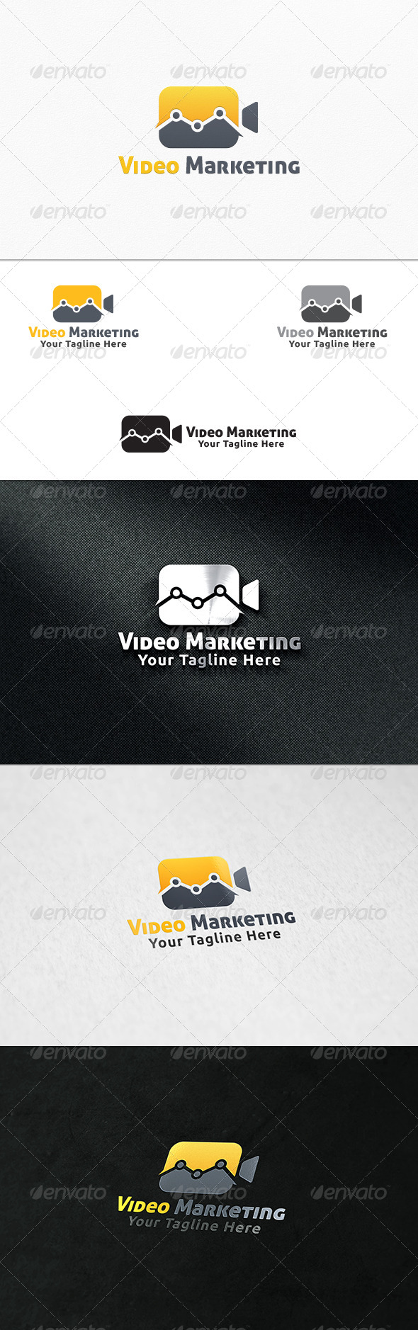 GraphicRiver Video Marketing Logo Template 7296399
