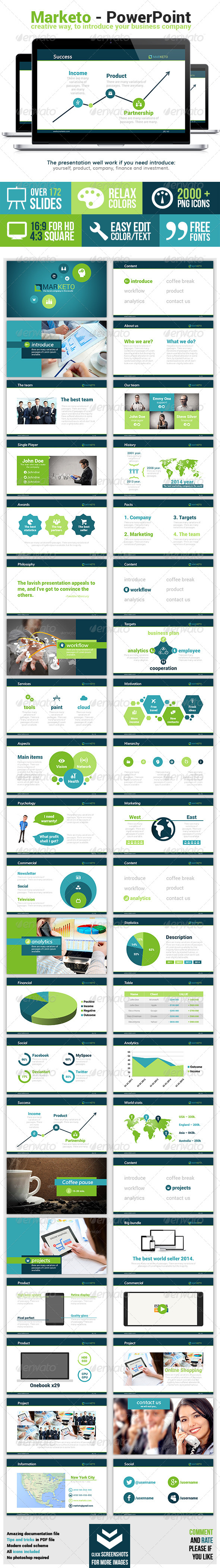 GraphicRiver Marketo Powerpoint Presentatio 7263622