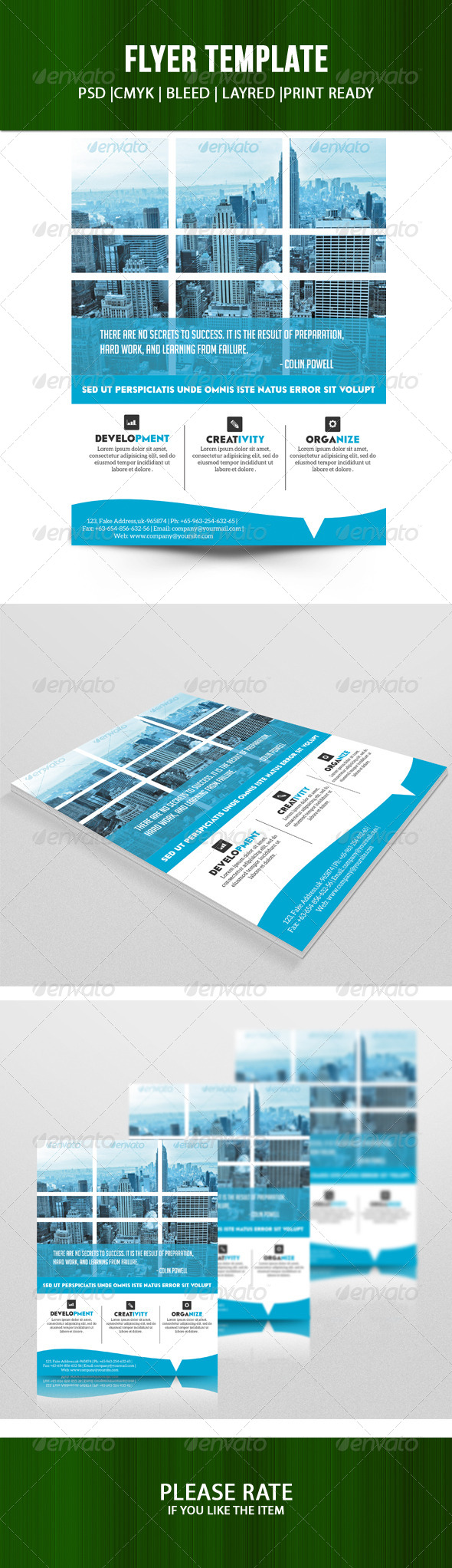 GraphicRiver Corporate Flyer Template 7297530