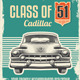Vintage Retro Sign - Classic Car - GraphicRiver Item for Sale