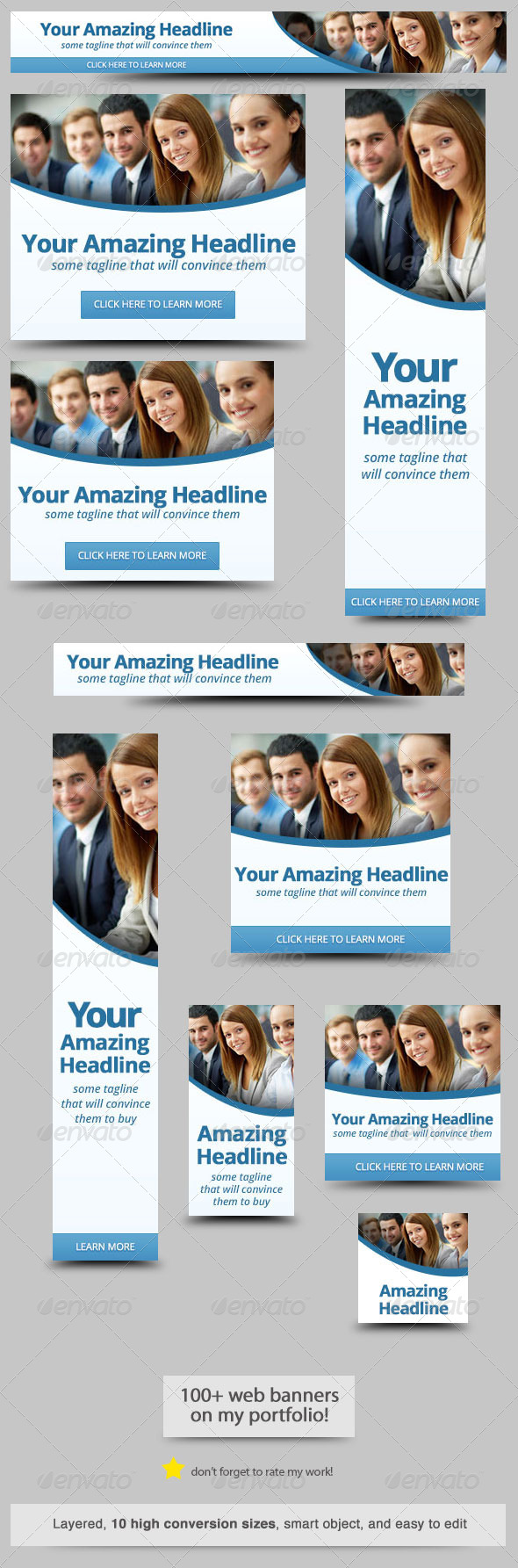 GraphicRiver Corporate Web Banner Design Template 35 7298124