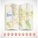 Navigation Map - GraphicRiver Item for Sale