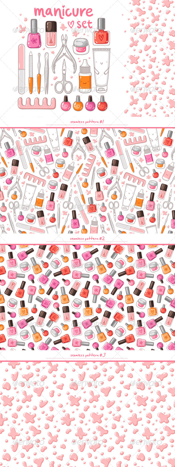 GraphicRiver Manicure 7298610