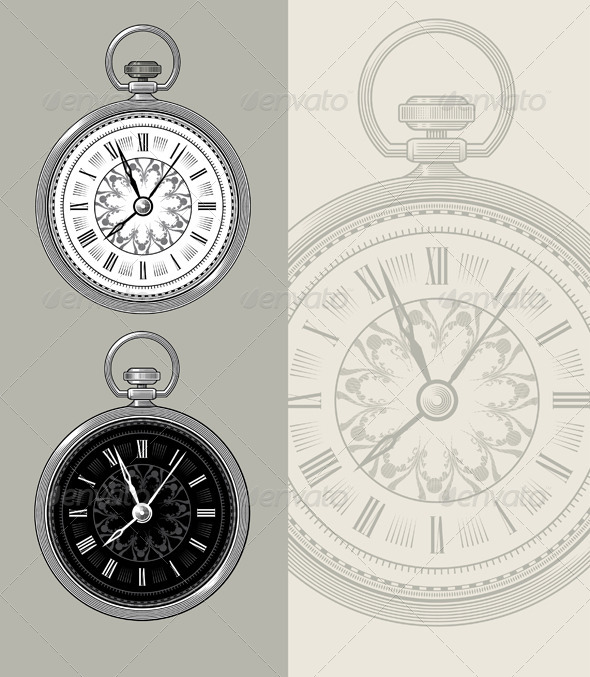 GraphicRiver Vintage Watch 7298661