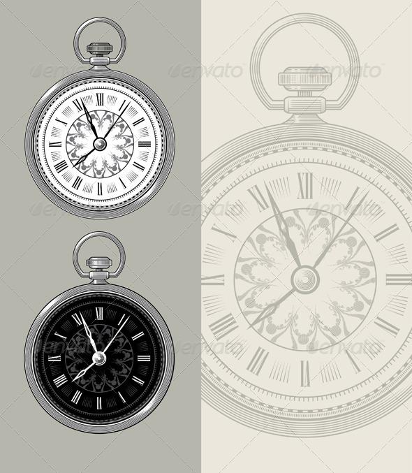 GraphicRiver Vintage Watch 7298661