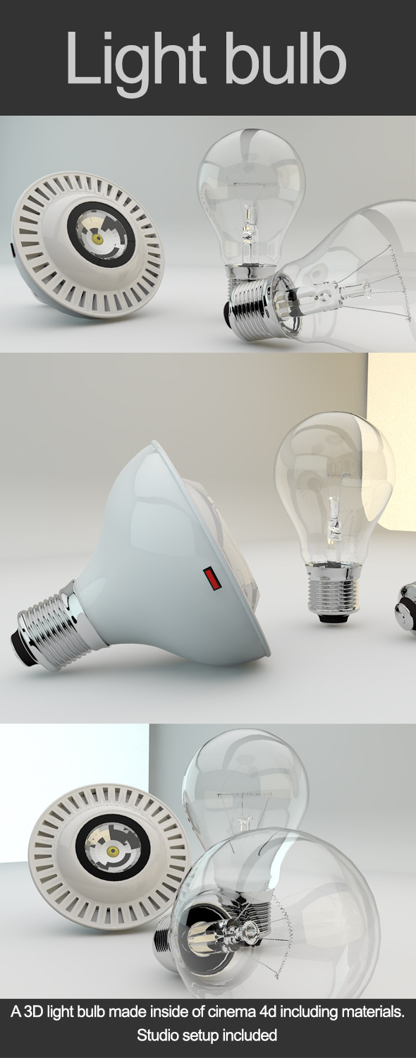 3DOcean Light Bulb 7298724