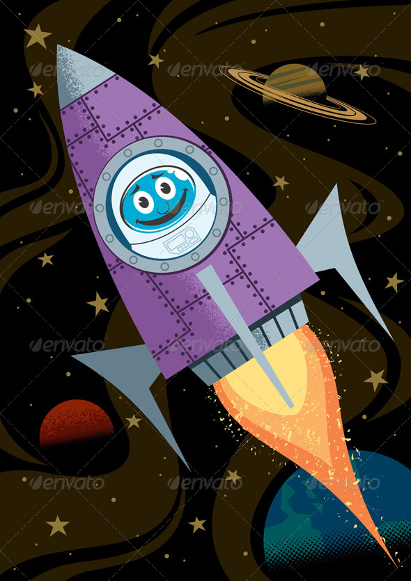 GraphicRiver In Space 7299453