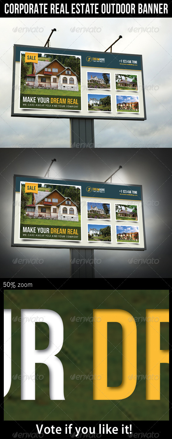 GraphicRiver Real Estate Outdoor Banner 03 7300188