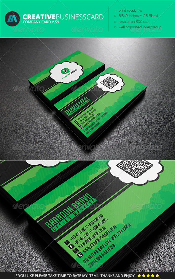 GraphicRiver IntenseArtisan Business Card Vol.59 7300280