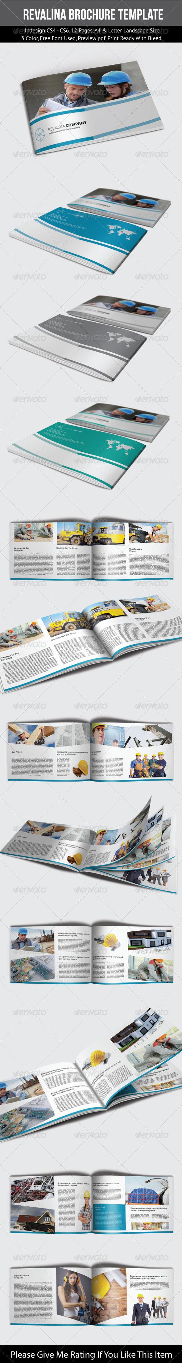 GraphicRiver Revalina Corporate Brochure Template 7301059