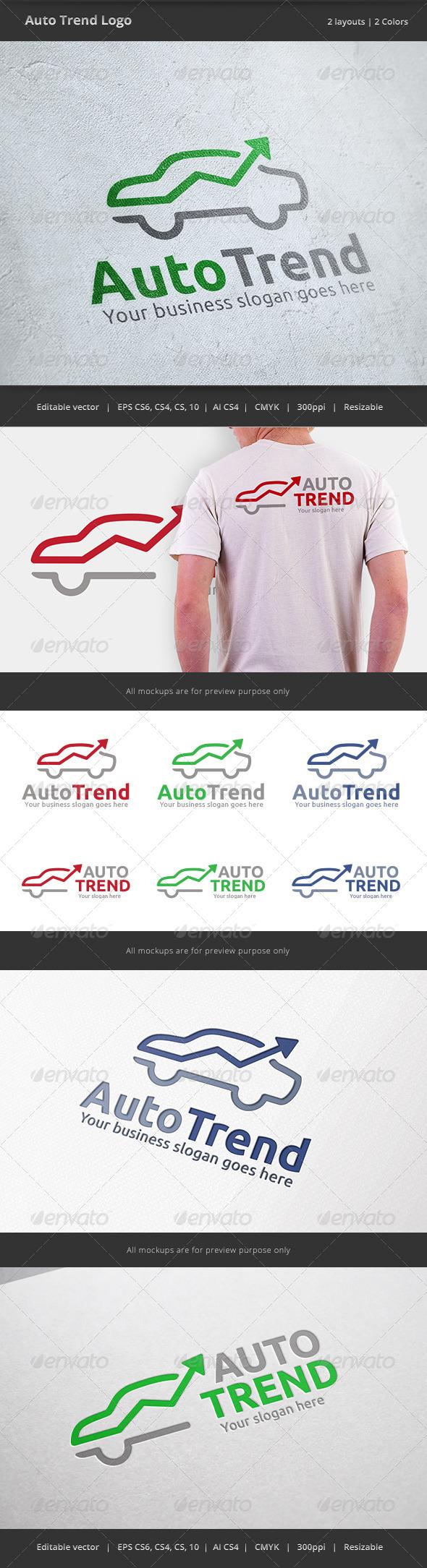 GraphicRiver Auto Trend Car Logo 7301133