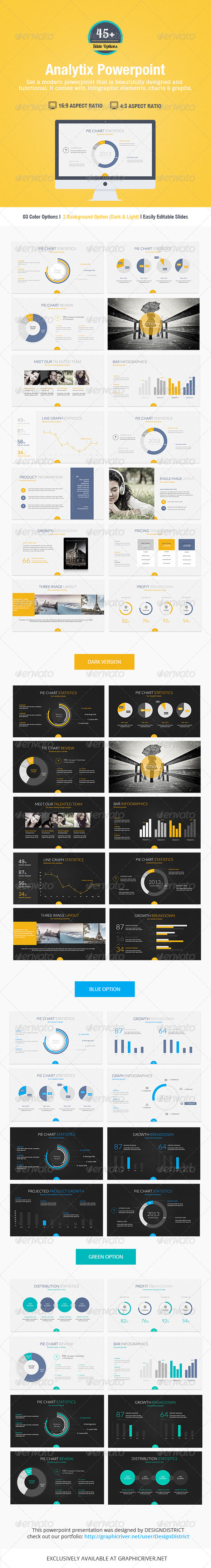 GraphicRiver Analytix Powerpoint Presentation 7301418