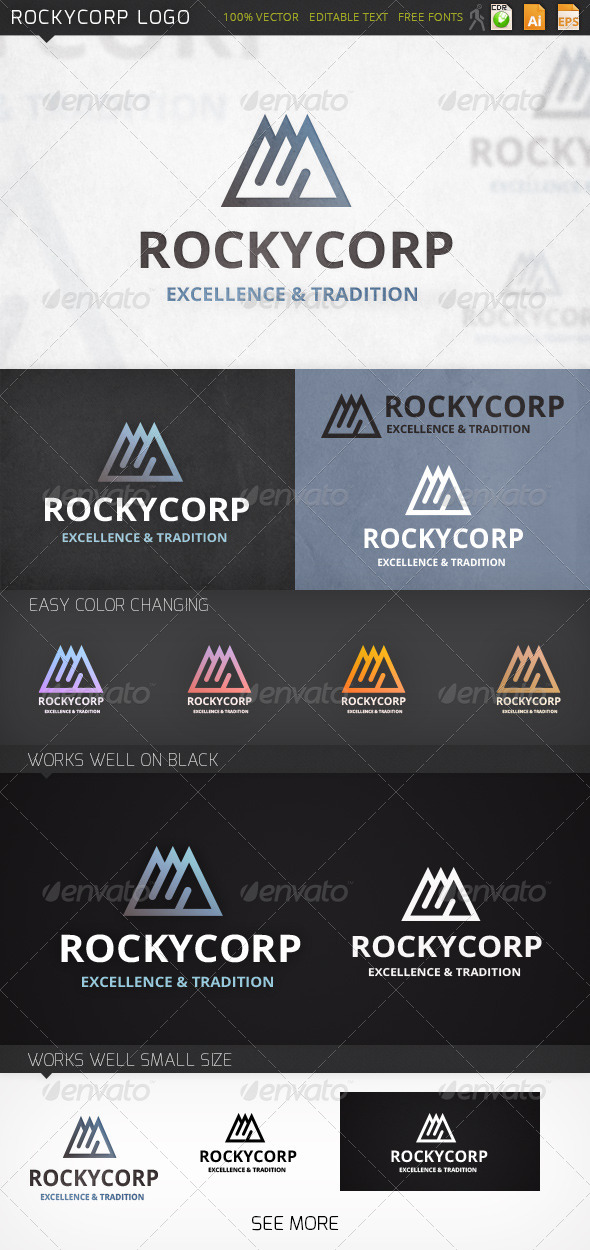 GraphicRiver Rockycorp Logo 7301426