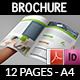 IT Company Brochure Design Template - 12 Pages - GraphicRiver Item for Sale
