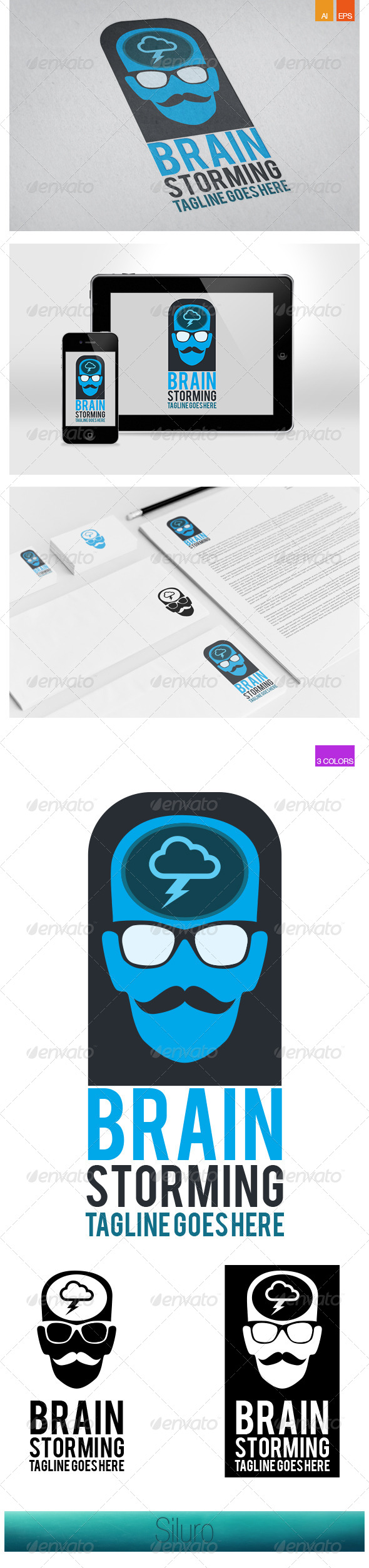 GraphicRiver BrainStorming Logo 7251804