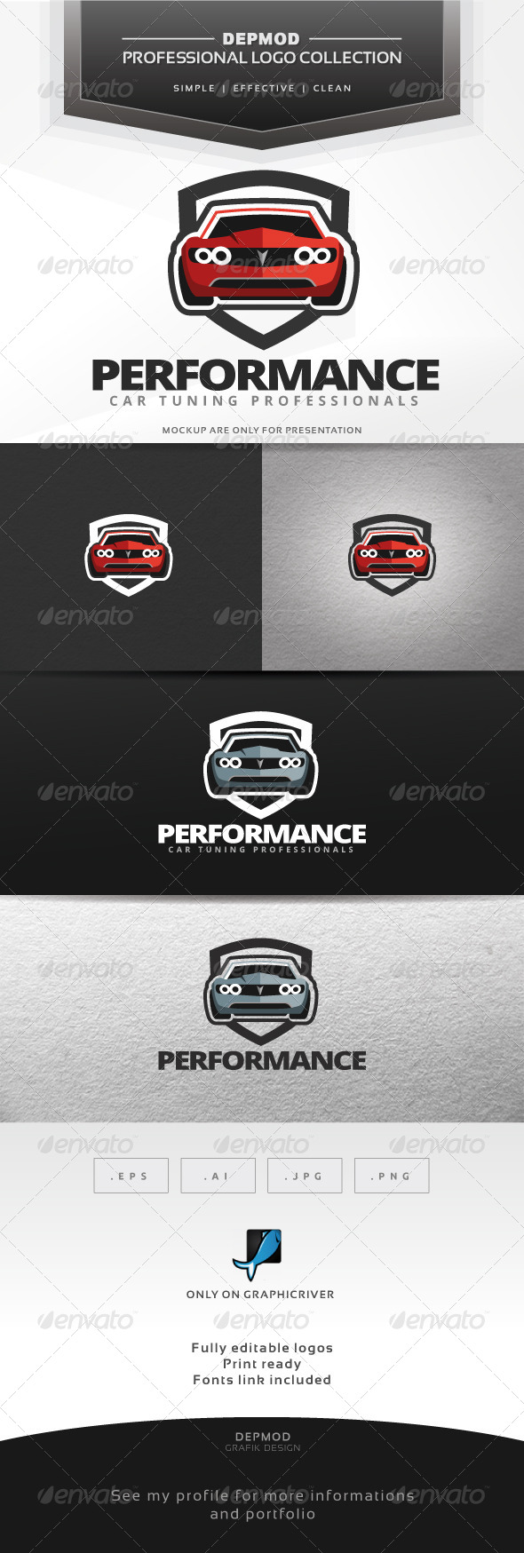 GraphicRiver Performance Logo 7301697