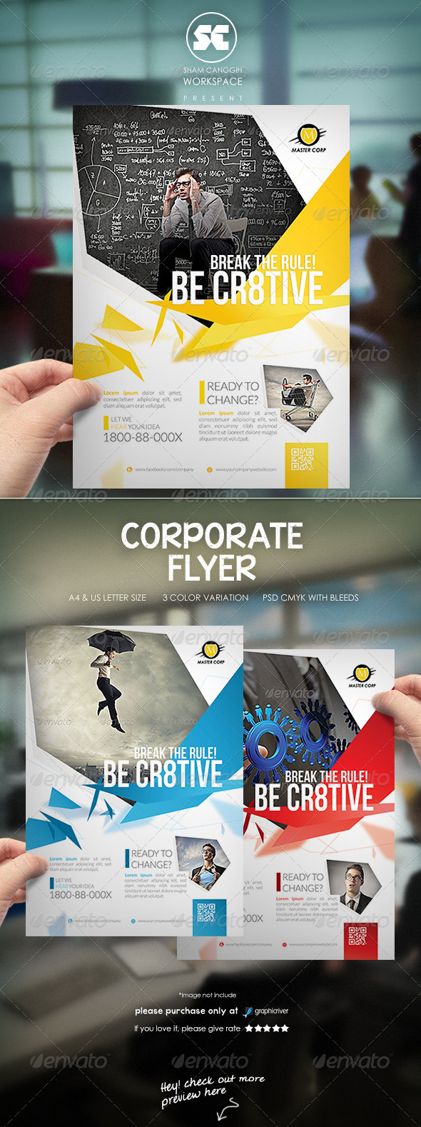 GraphicRiver Clean Corporate Flyer Magazine Ads 7301857