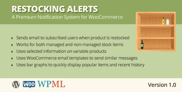 CodeCanyon Restocking Alerts for WooCommerce 7301935