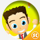 Male Office And Business Mascot - GraphicRiver Item for Sale