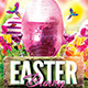 Easter Bunny Flyer Template  - GraphicRiver Item for Sale