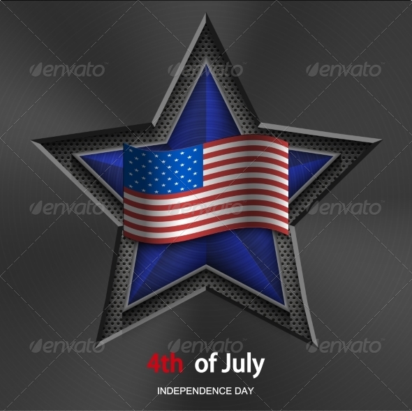 GraphicRiver 4th of July Background Independence Day 7302186