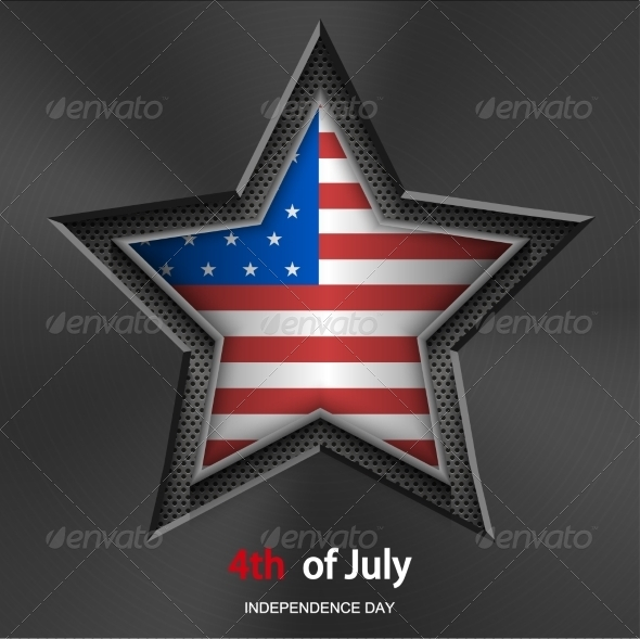 GraphicRiver Vector 4th of july background Independence Day 7302190