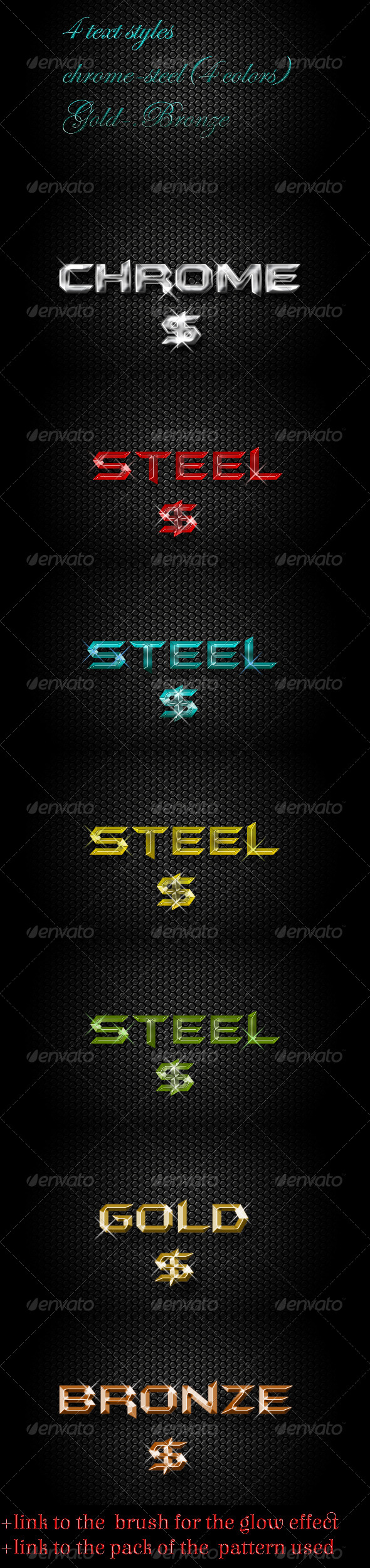 GraphicRiver Metal Style 7302767