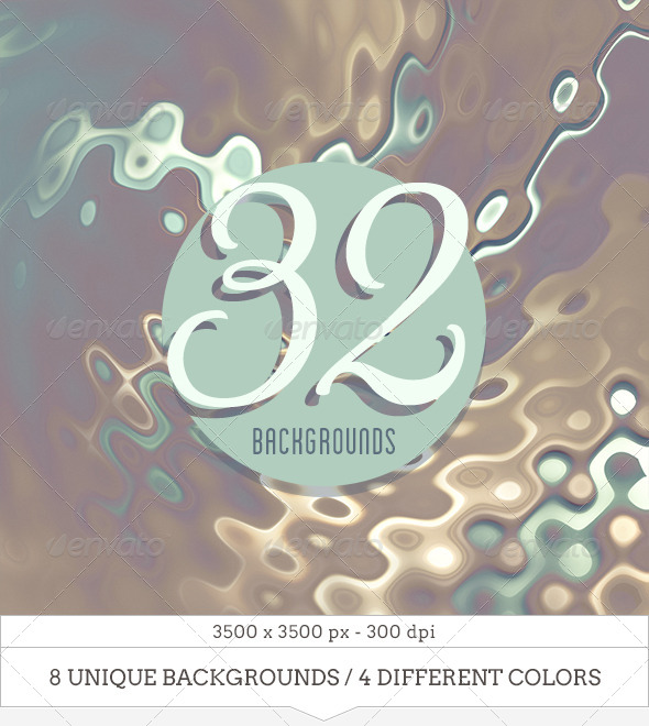 GraphicRiver 38 Colorful Liquid Metal Backgrounds 7302790