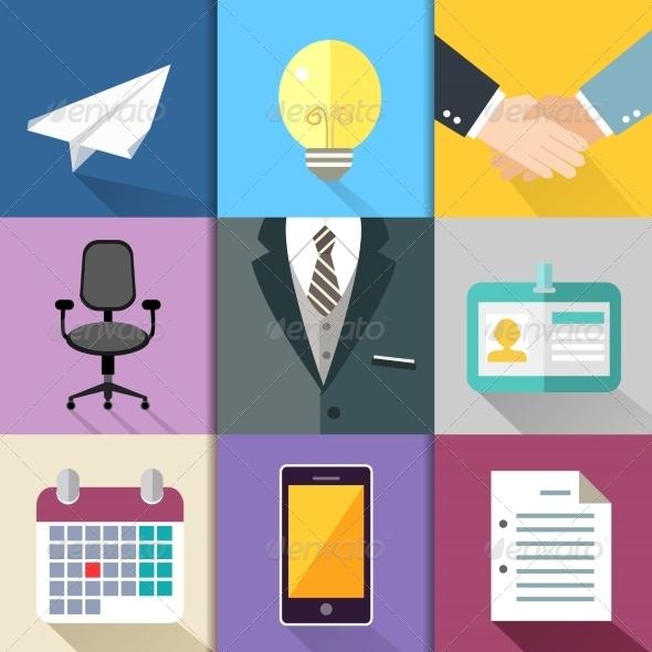 GraphicRiver Business suit set 7302797