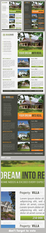 GraphicRiver Real Estate Corporate Flyer 08 7302799