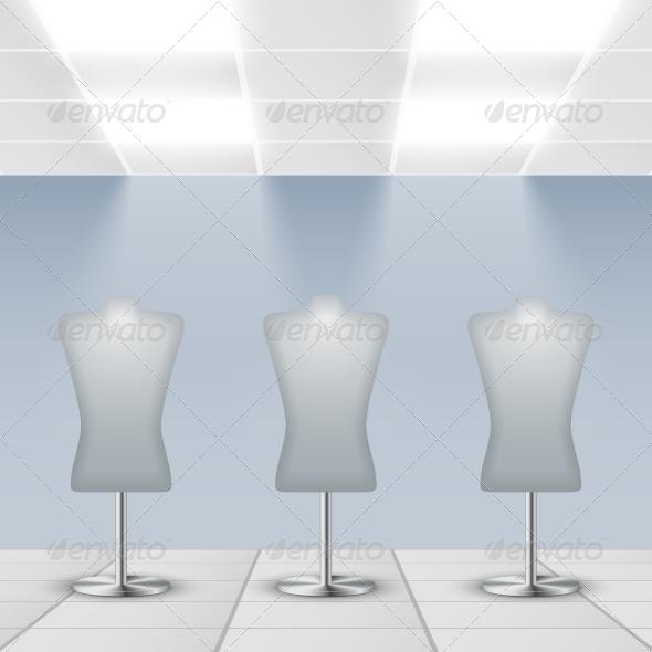 GraphicRiver Department Store Interior Detail 7302851